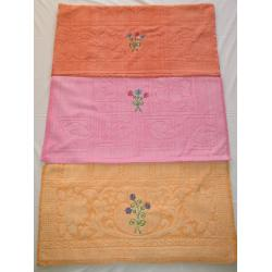 GOLD CHOICE EMBROIDERY  BATH TOWEL 3