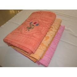 GOLD CHOICE EMBROIDERY  BATH TOWEL 4