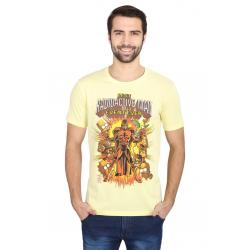 Planet Superheroes - Simpsons - Radioactive Man Yellow T-Shirt 3