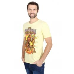 Planet Superheroes - Simpsons - Radioactive Man Yellow T-Shirt 1