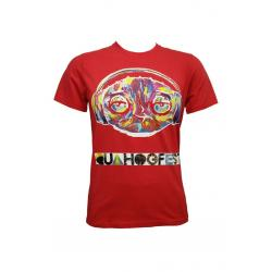 Planet Superheroes - Family Guy - Quahogfest Red T-Shirt 1