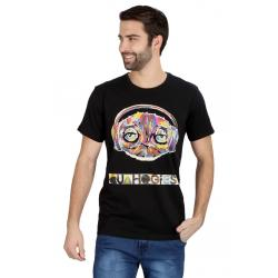 Planet Superheroes - Family Guy - Quahogfest Black T-Shirt