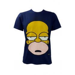 Planet Superheroes - Simpsons - Good Ol Homer Dark Blue T-Shirt