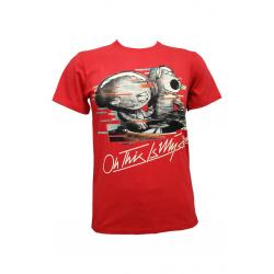 Planet Superheroes - Family Guy - Oh This Is My Jam Red T-Shirt