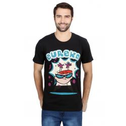 Planet Superheroes - Dexter - Eureka Black T-Shirt