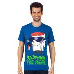 Planet Superheroes - Dexter - The Real Dark Blue T-Shirt