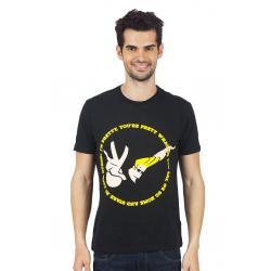 Planet Superheroes - Johnny Bravo - We Are Both So Pretty Black T-Shirt