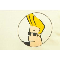 Planet Superheroes - Johnny Bravo - On Back Yellow T-Shirt 4