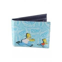 Planet Superheroes - Simpsons ILl Kill You! Satin Wallet