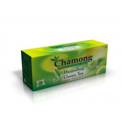 Chamong Organic Darjeeling Green Regular 25 Tea Bag Multipack (25x2=50 Tbags)