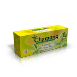 Chamong Organic Lemon Green Regular 25 Tea Bag Multipack (25x2=50 Tbags)