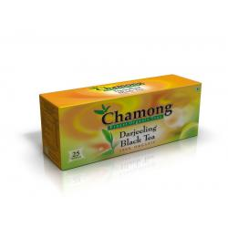 Chamong Organic Darjeeling Black Tea Regular 25 Tea Bag Multipack (25x2=50 Tbags)