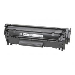 Black and White Laser Toner Printer Cartridge