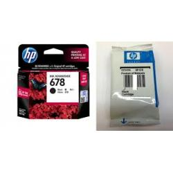 HP 678 Black Original Ink Advantage Cartridge