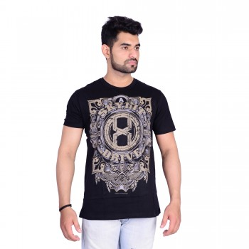 HB REPUBLIC Round Neck Printed Half Sleeve T- shirt 4