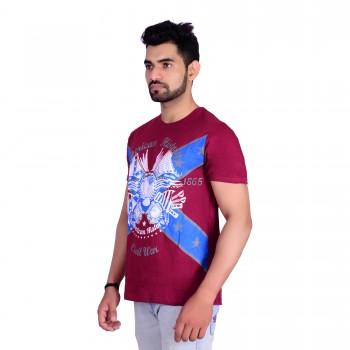 HB REPUBLIC Round Neck Printed Half Sleeve T- shirt