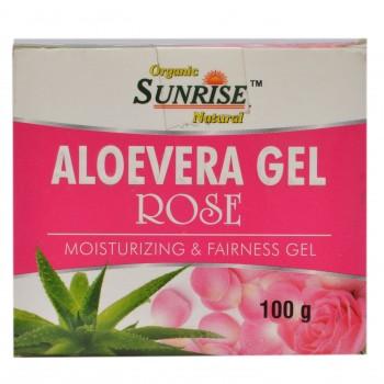 Organic Aloevera Gel Rose