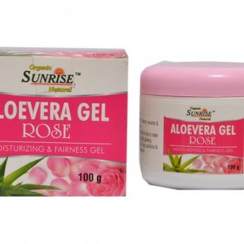 Organic Aloevera Gel Rose 1