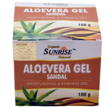 Organic Aloevera Sandal Gel