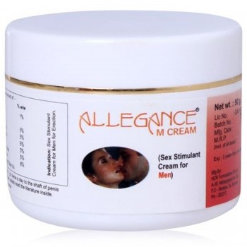 Allegance M Sex Stimulant and Libido Enhancer cream for Male 1