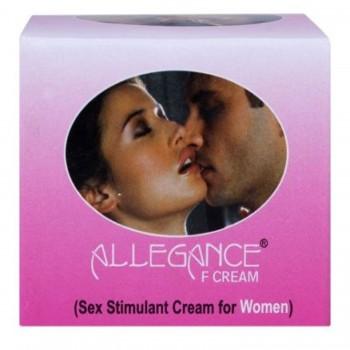 Allegance F Sex Stimulant and Libido Enhancer cream for Female