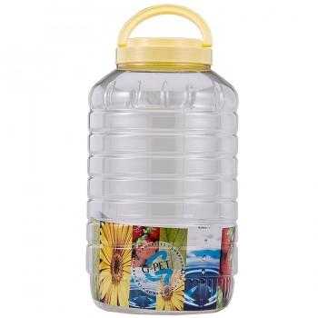 G-PET Round Container 8000 ml