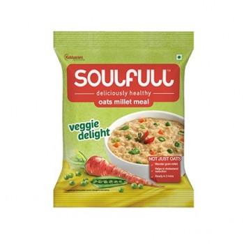 Soulfull Oat Millet Meal - Veggie Delight