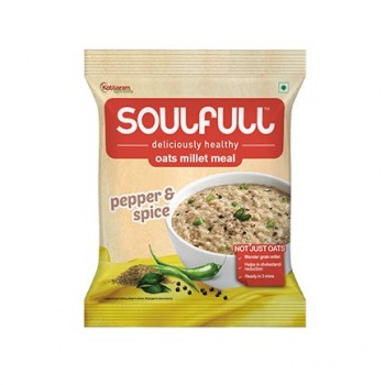 Soulfull Oat Millet Meal - Pepper and Spice