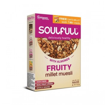 Soulful Millet Muesli - Fruity 450gm