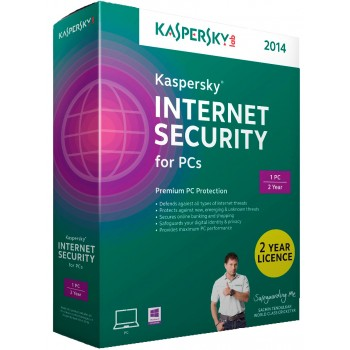 Kaspersky Internet Security 2015 3 user 1 year