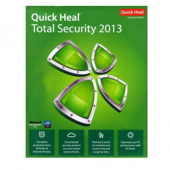 Quick Heal Total Security 3 users 1 year
