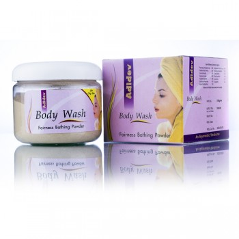 Adidev Herbals Ayurvedic Fairness Body Wash for Oily Skin