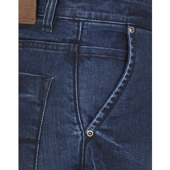 El'monde Men's Medium Waist Blue Denim Jeans Size 30-36 3