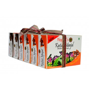 Happy's Manjal Soap Buy 5 Get 1 Free (Pack of 6)