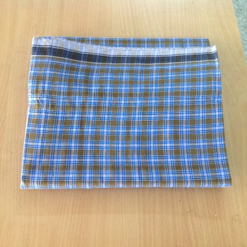 M K Cotton lungi 2Mtr small and big checked 2