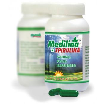 Medilina Spirulina Capsules(120)