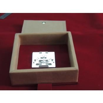 ENERGIZED 3D SILVER PLATED SHIRDI SAI BABA YANTRA  1