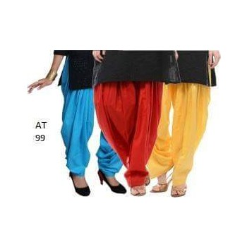 Trendy girls Plain Patiala