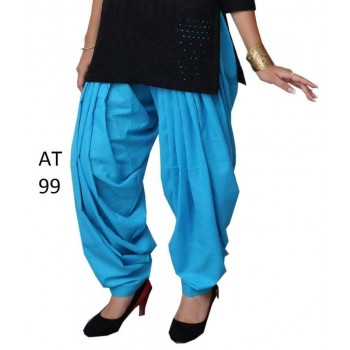 Trendy girls Plain Patiala 3