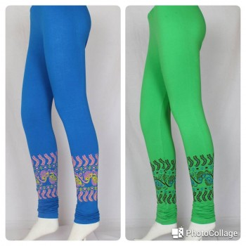 Trendy girls Bottom printed leggings 2