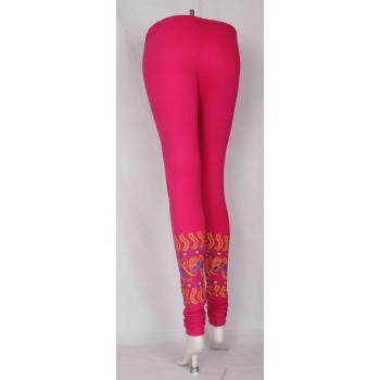 Trendy girls Bottom printed leggings 3