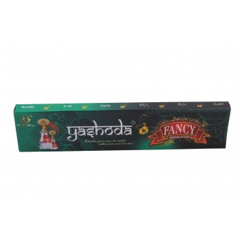 Yashoda Fancy Black Agarbatti 16-17 Incense Sticks per 22 Grms a Pack
