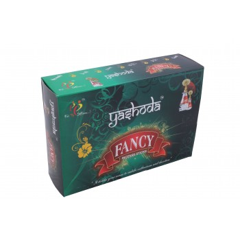 Yashoda Fancy Black Agarbatti 16-17 Incense Sticks per 22 Grms a Pack 1