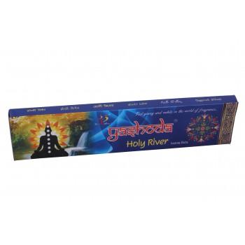 Yashoda Holy River Agarbatti 16-17 Incense Sticks 22 gms a Pack