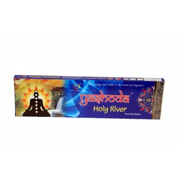 Yashoda Holy River Agarbatti 34-35 Incense Sticks 50 gms a Pack