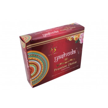 Yashoda Premium Choice Agarbatti 34-35 Incense Sticks 50 gms a Pack 1