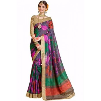 Pearl Fashion Bhagalpuri Silk Saree