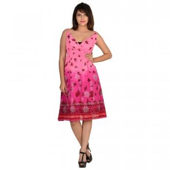 Wardtrobe Beautiful stylish Sleeveless cotton Long Dress