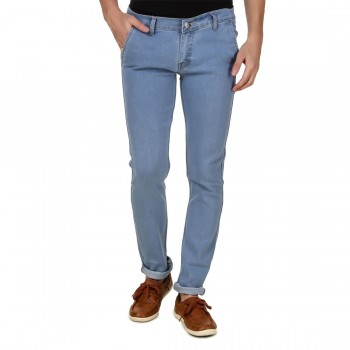 HALTUNG MENS SLIM FIT JEANS MW DBLUE-34