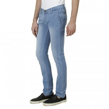 HALTUNG MENS SLIM FIT JEANS MW LBLUE-30 1